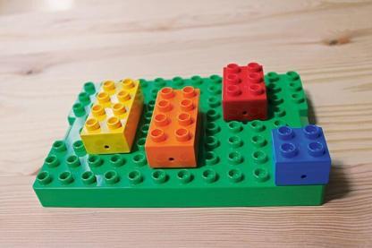 Mein Lego® - Schlüsselbrett
