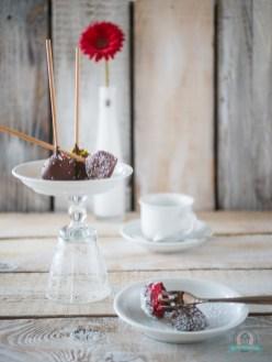Rumkugeln- Cake Pop