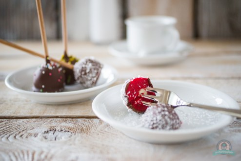 Rumkugeln-Cake Pop