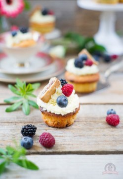 Wild Berry Cupcakes