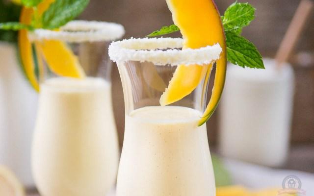 Griechischer Mango Smoothie – und die Vorfreude auf den Urlaub steigt…