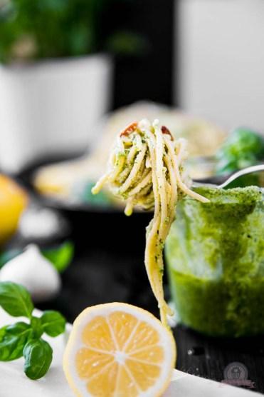Basilikum Lemon Pasta 1
