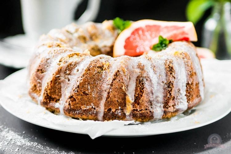 Mohn Grapefruit Gugelhupf – ein schneller Rührkuchen für jeden Tag…