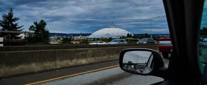 Auf dem Weg nach Seattle: Der Tacoma Dome