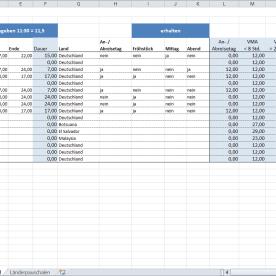 Vorlage Reisekostenabrechnung - VTP
