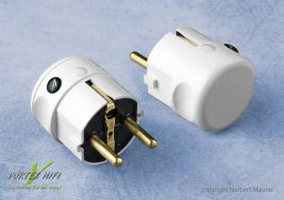 Vortex HiFi Nano Shield Power Plug weiss