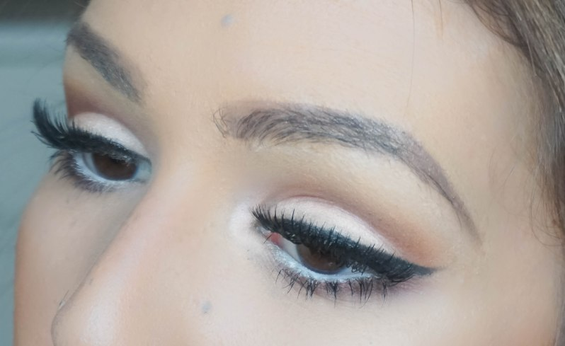 Finish eyemakeup look