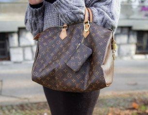 Louis Vuitton Speedy 30 in Monogram canvas