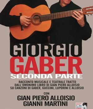 Il mio amico Giorgio Gaber live