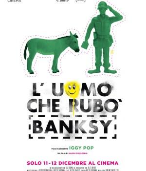 L'UOMO CHE RUBÒ BANKSYI