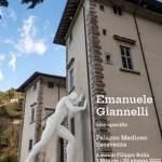 Esposizione Mr Arbitrium di Emanuele Giannelli a Palazzo Mediceo Seravezza Locandina Foto di Giovanni Bertagna