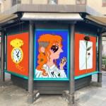 Progetti degli artisti di Street Art a Lucca