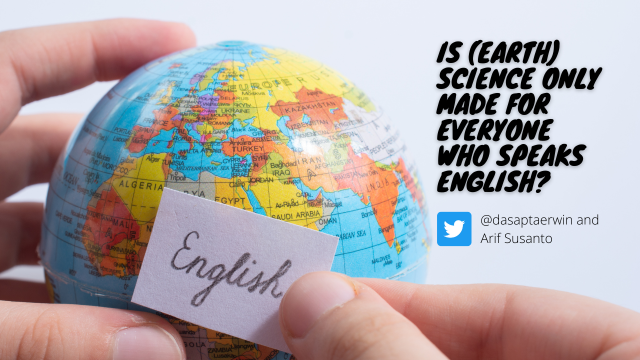 Is (earth) science only made for everyone who speaks English