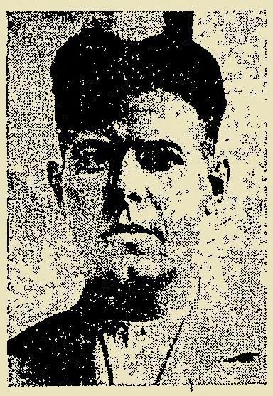 Ο Παναγιώτης Μαρίνος όπως απεικονιζόταν στην υπηρεσιακή του ταυτότητα