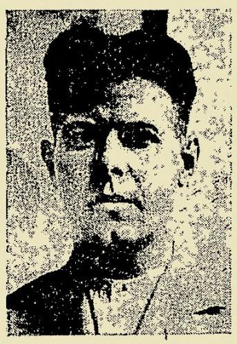 Ο δασοκόμος Παναγιώτης Μαρίνος όπως απεικονιζόταν στην υπηρεσιακή του ταυτότητα. Μετά την απόλυση του σκότωσε δυο δασολόγους.