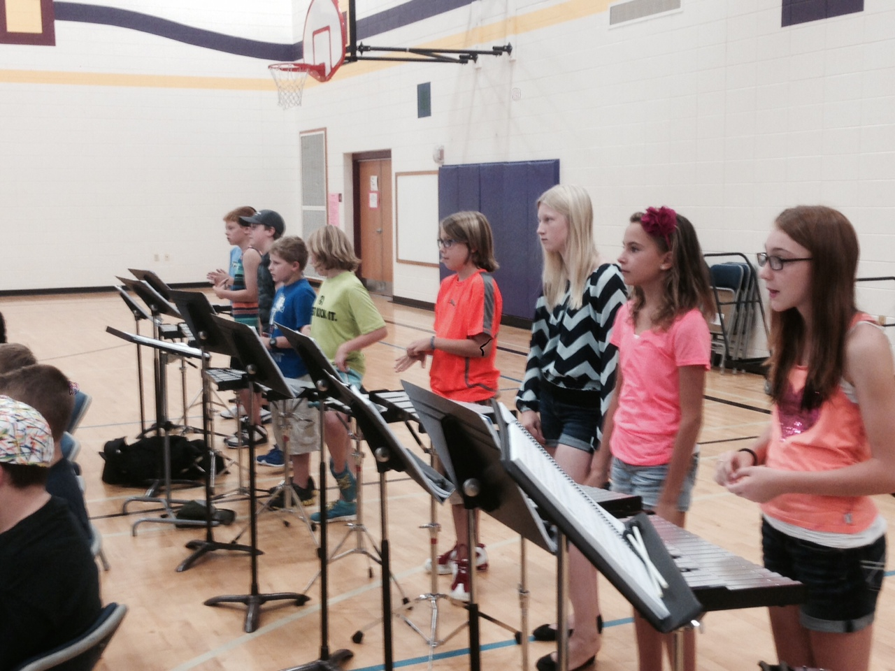 Middle School Band Students Attend Camp Dasd News Blog
