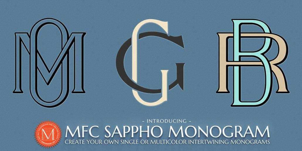 monograma letras entrelazadas online online logotipo boda