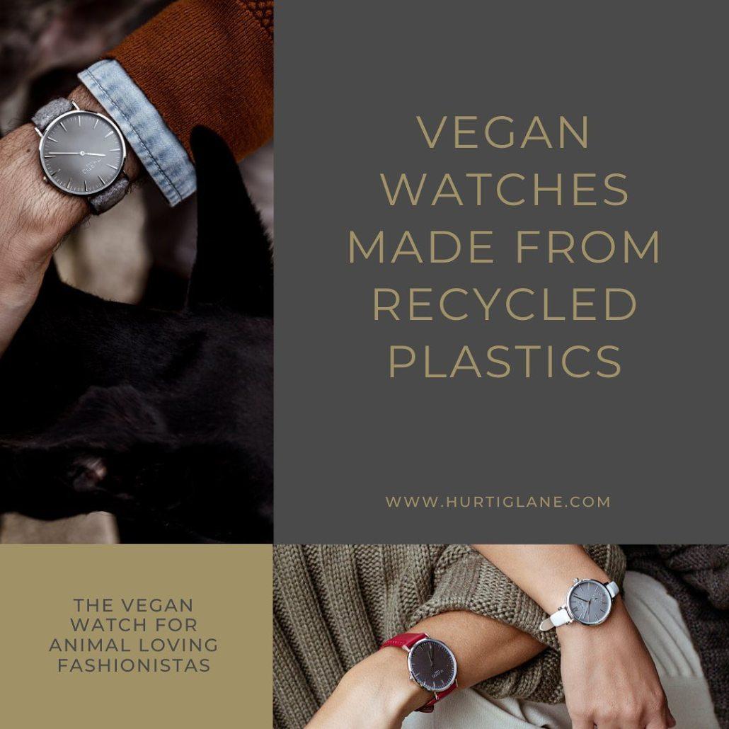 Relojes veganos sostenibles y reciclados hechos en Barcelona