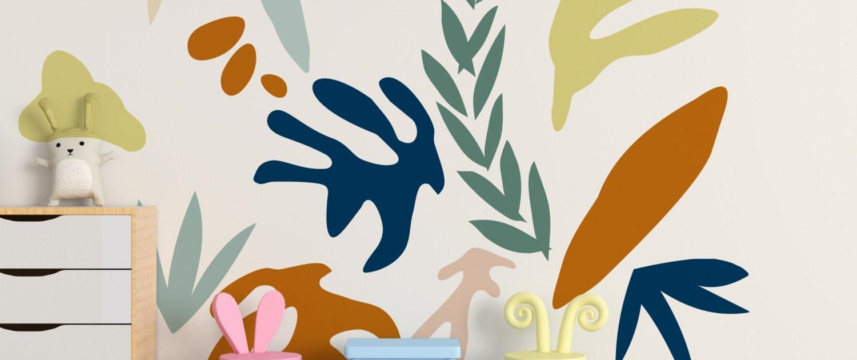 mural infantil pintado en pared de habitación de casa dase