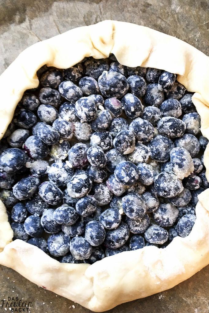 Blaubeer-Crostata