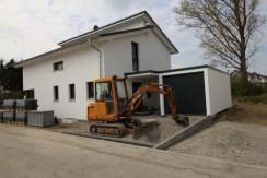 Bau der Aussenanlagen 032