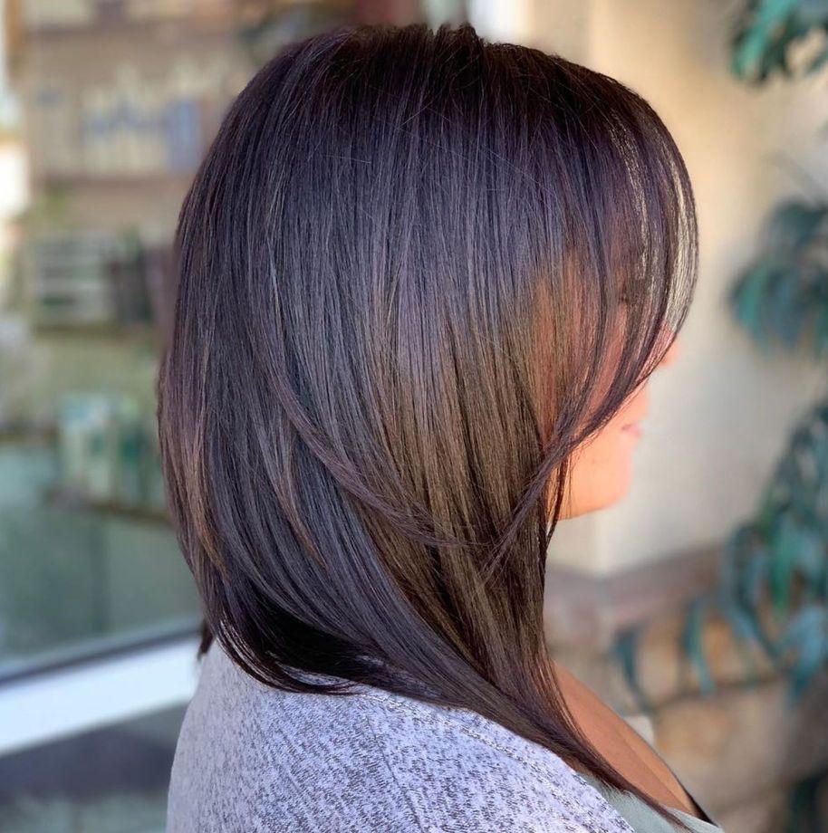 للشعر الخفيف قصات شعر جديدة للنساء