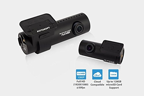 BlackVue DR650S-2CH dual channel dash cam, 1080p front 720p rear recording