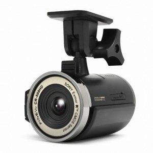 A closeup picture of the FineVu CR-500HD dash cam