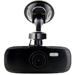 G1W-CB dash cam, all black, with built-in capacitor