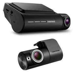 Thinkware F800 Pro all black front and rear car camera