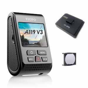 Viofo A119 v3 dash cam with GPS and CPL