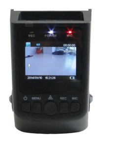 """A small and compact dash cam with 1.5"""" screen"""