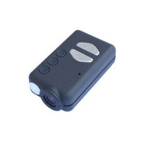 The Mobius action camera is very small and discreet, of rectangular shape