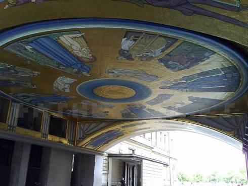 Gilded archway, Copenhagen