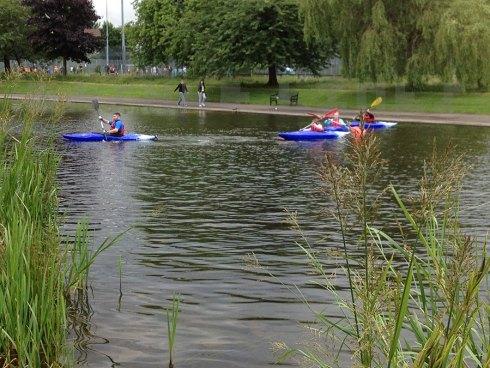 NEFest kayaing