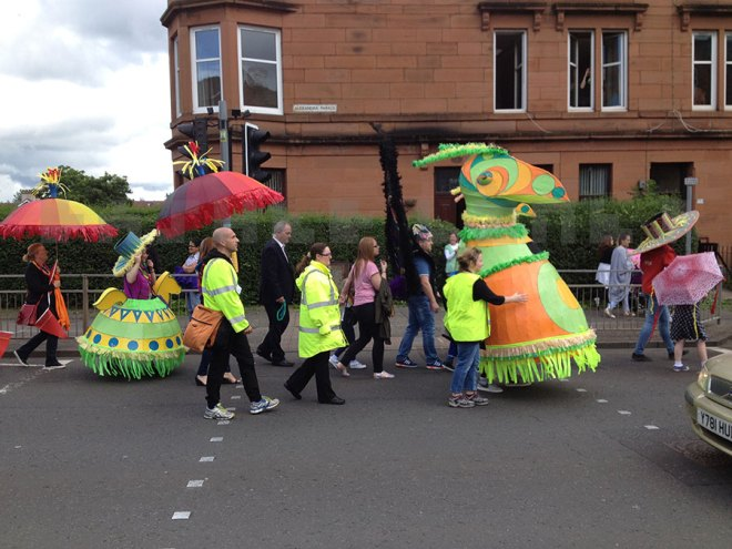 Colourful Parade