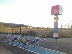 Bellgrove St Nextbike hire station