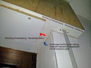 Rollladenkasten braucht Reparatur - aber wie?