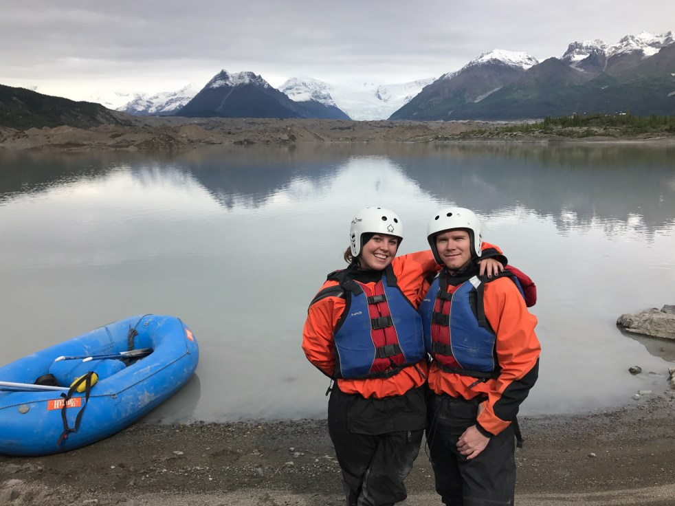 glacier lake raft