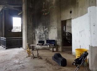 Musicians often record music in grain silos
