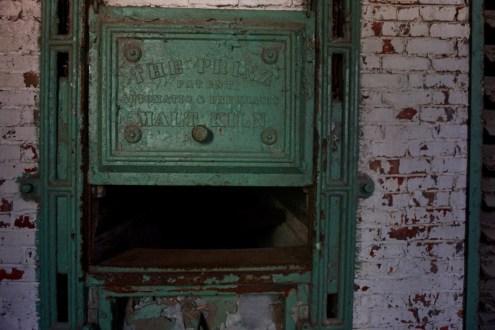 an antique kiln inside silocity