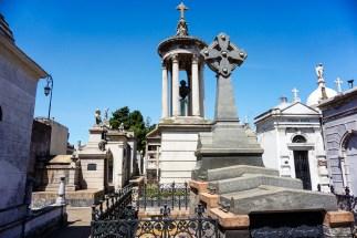 Inside La Recoleta Cemetery