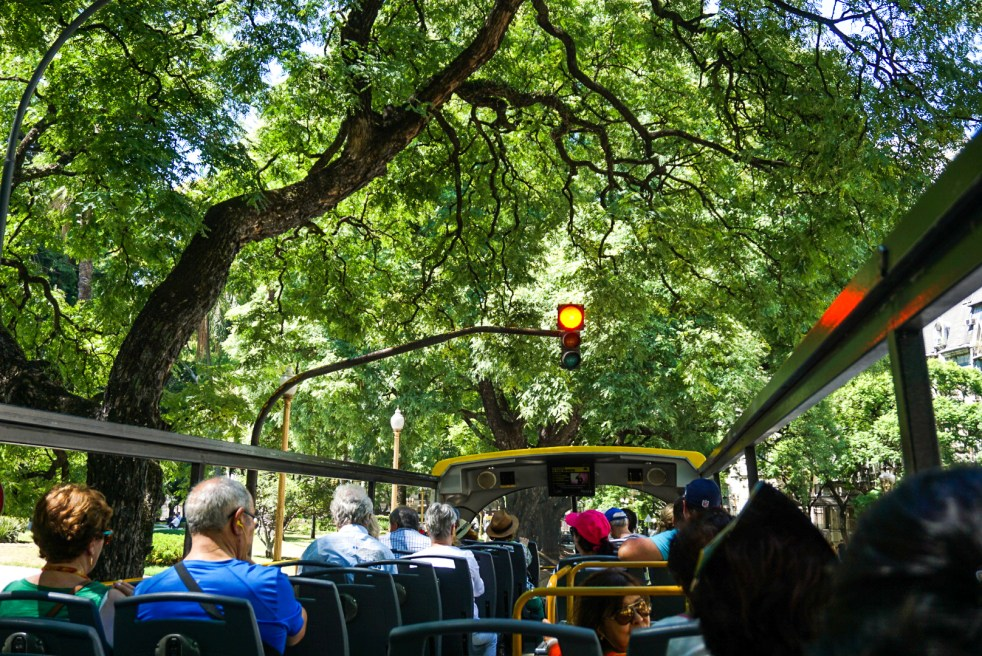 Open Deck Buenos Aires Bus