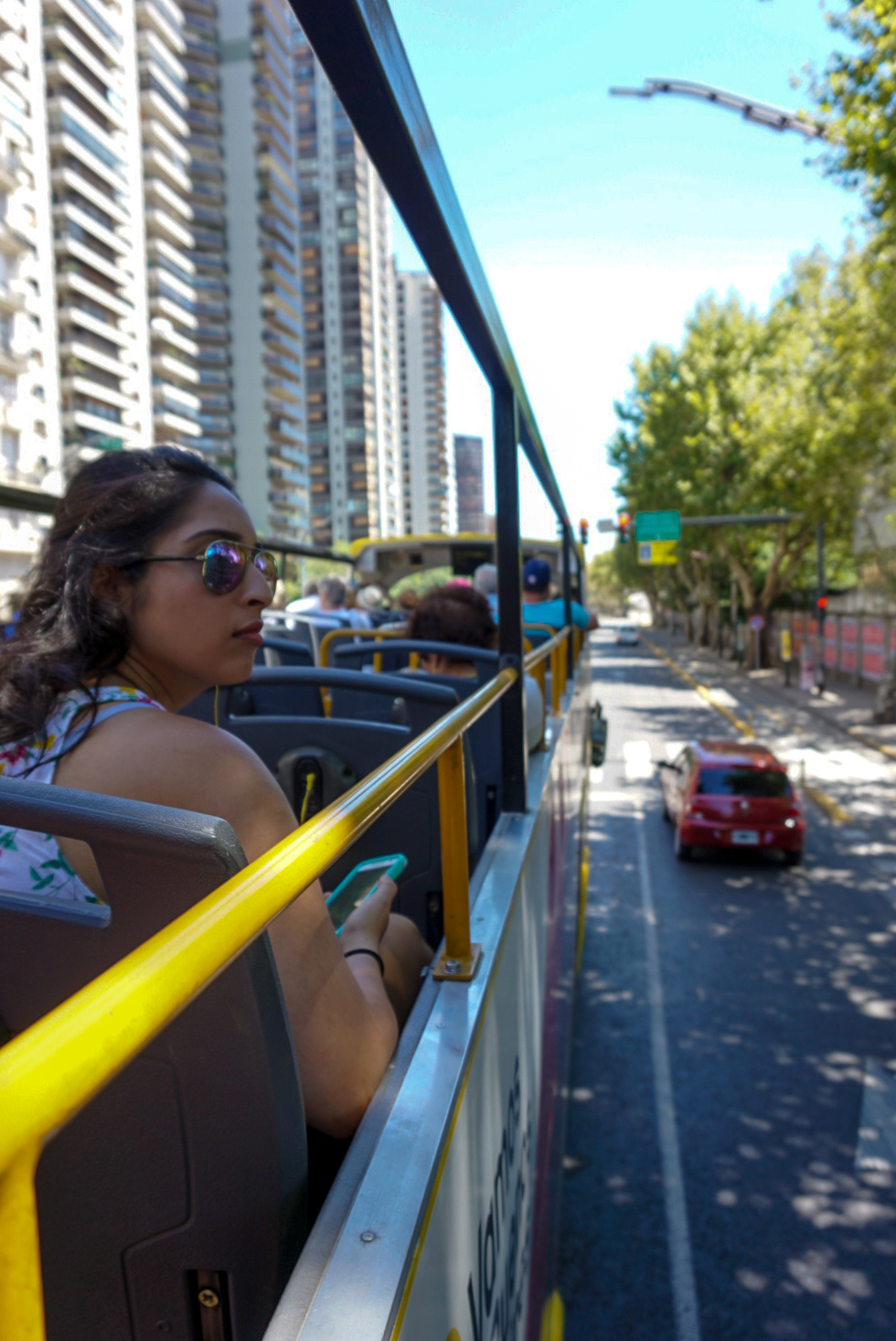 Riding the Buenos Aires Bus