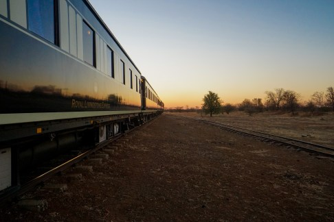 Royal Livingstone Express Train at Sundown