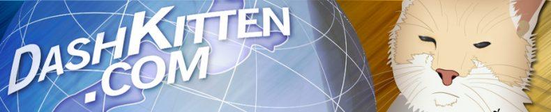 Dash Kitten Web Site Banner