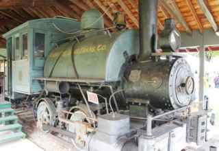 Steampunk Low Tech Train