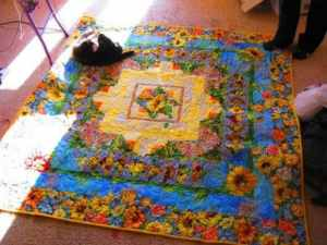 Quilt Sunkissed by Adrienne Walker