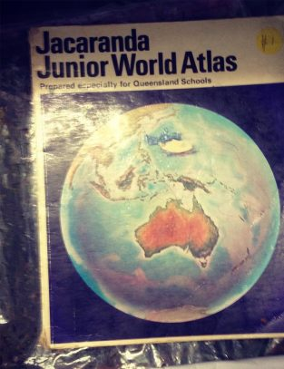 Australian world atlas