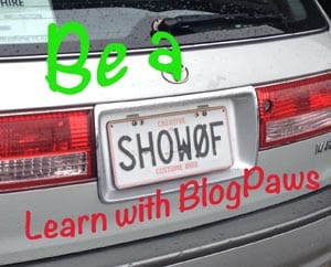 BlogPaws Showoff